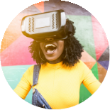 Imagen de chica con VR