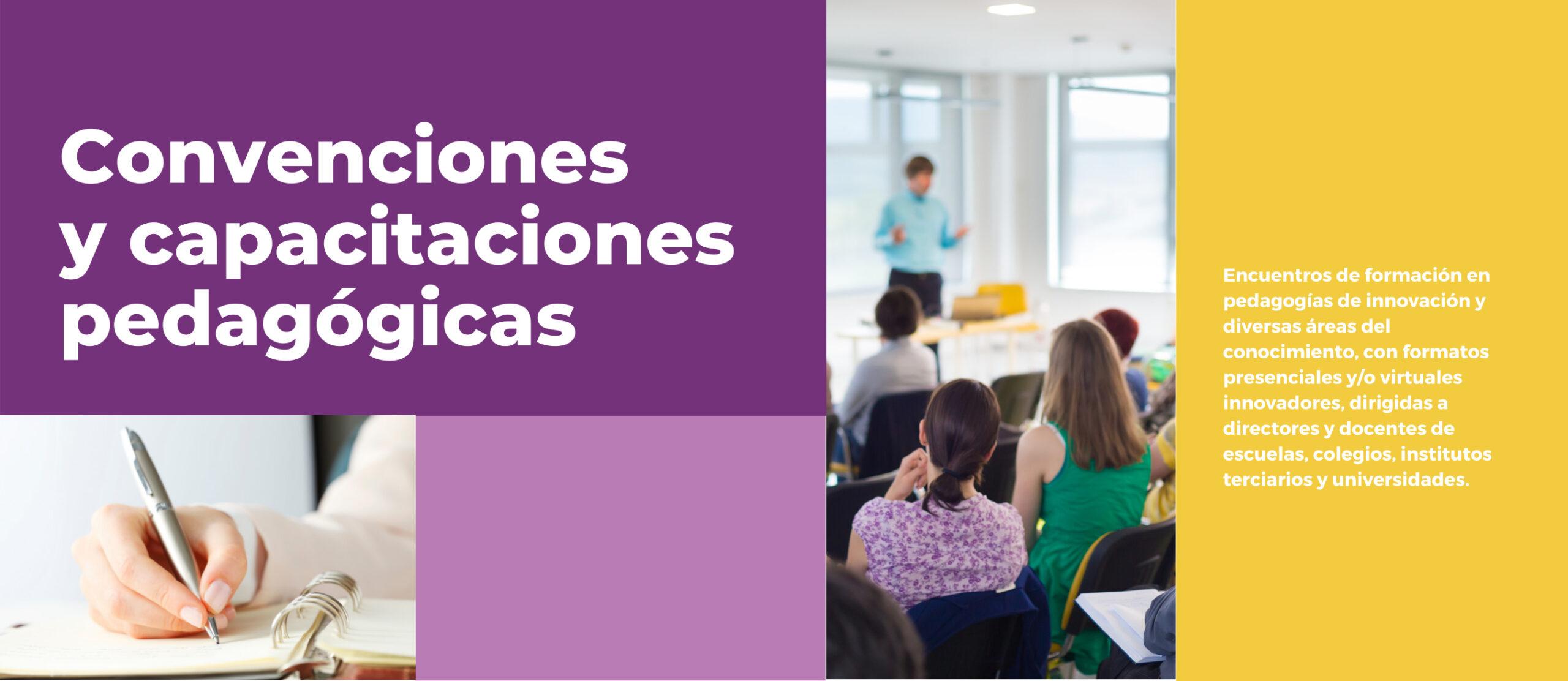 Imagen de Portada de Sección Convenciones y Capacitaciones Pedagógicas