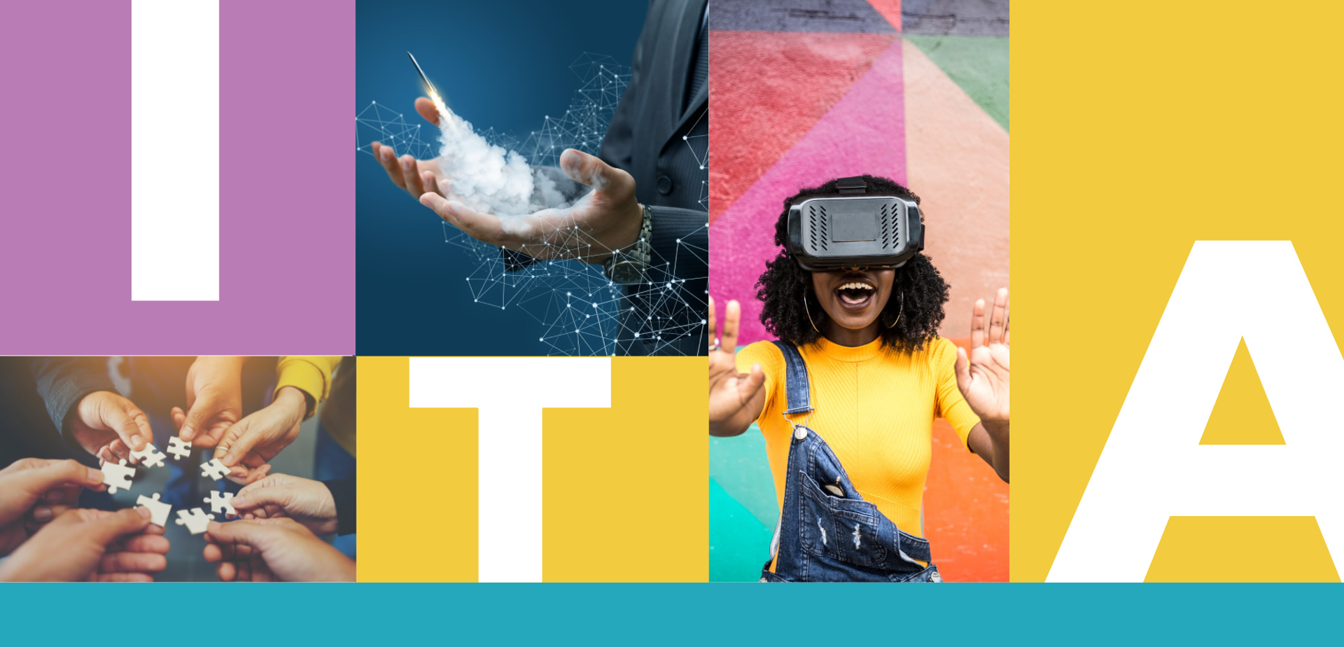 Imgen de sección Ita con Chica con casco de realidad virtual